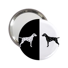 Dalmatian Dog 2 25  Handbag Mirrors by Valentinaart