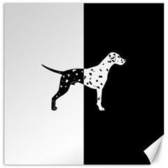 Dalmatian Dog Canvas 20  X 20   by Valentinaart