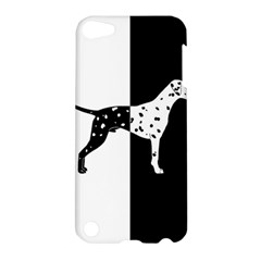 Dalmatian Dog Apple Ipod Touch 5 Hardshell Case by Valentinaart