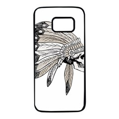 Indian Chef  Samsung Galaxy S7 Black Seamless Case