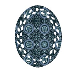 Oriental Pattern Ornament (oval Filigree) by ValentinaDesign