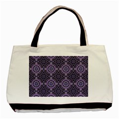 Oriental Pattern Basic Tote Bag by ValentinaDesign