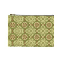 Oriental Pattern Cosmetic Bag (large)  by ValentinaDesign