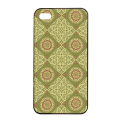 Oriental Pattern Apple Iphone 4/4s Seamless Case (black) by ValentinaDesign