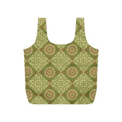 Oriental Pattern Full Print Recycle Bags (s)  by ValentinaDesign