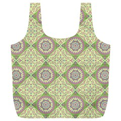 Oriental Pattern Full Print Recycle Bags (l)  by ValentinaDesign