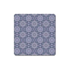 Oriental Pattern Square Magnet by ValentinaDesign