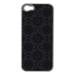 Oriental Pattern Apple Iphone 5 Case (silver) by ValentinaDesign