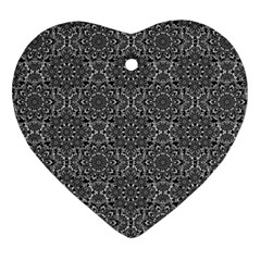 Oriental Pattern Ornament (heart) by ValentinaDesign