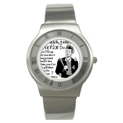 Rick Astley Stainless Steel Watch by Powwow