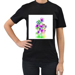 Flovers 23 Women s T Shirt (black)