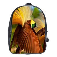 Birds Paradise Cendrawasih School Bag (large) by Mariart