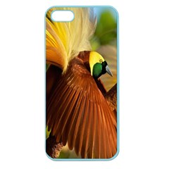 Birds Paradise Cendrawasih Apple Seamless Iphone 5 Case (color) by Mariart