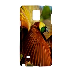 Birds Paradise Cendrawasih Samsung Galaxy Note 4 Hardshell Case by Mariart