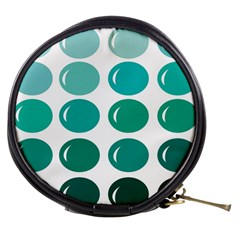 Bubbel Balloon Shades Teal Mini Makeup Bags by Mariart