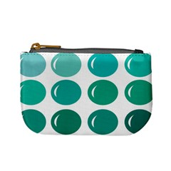 Bubbel Balloon Shades Teal Mini Coin Purses by Mariart