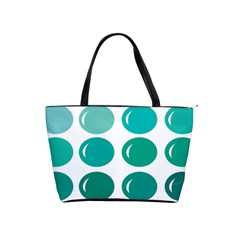 Bubbel Balloon Shades Teal Shoulder Handbags by Mariart