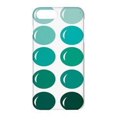Bubbel Balloon Shades Teal Apple Iphone 7 Plus Hardshell Case by Mariart