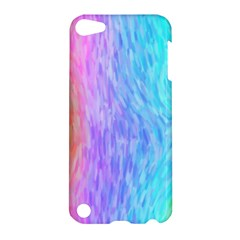 Aurora Rainbow Orange Pink Purple Blue Green Colorfull Apple Ipod Touch 5 Hardshell Case by Mariart