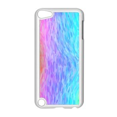Aurora Rainbow Orange Pink Purple Blue Green Colorfull Apple Ipod Touch 5 Case (white) by Mariart