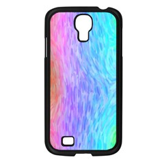 Aurora Rainbow Orange Pink Purple Blue Green Colorfull Samsung Galaxy S4 I9500/ I9505 Case (black) by Mariart