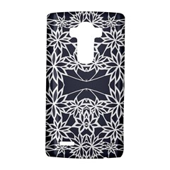 Blue White Lace Flower Floral Star Lg G4 Hardshell Case by Mariart