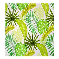 Amazon Forest Natural Green Yellow Leaf Shower Curtain 66  X 72  (large)