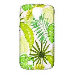 Amazon Forest Natural Green Yellow Leaf Samsung Galaxy S4 Classic Hardshell Case (pc+silicone) by Mariart