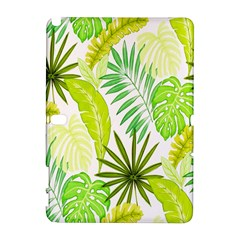 Amazon Forest Natural Green Yellow Leaf Galaxy Note 1 by Mariart