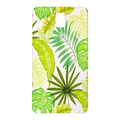 Amazon Forest Natural Green Yellow Leaf Samsung Galaxy Note 3 N9005 Hardshell Back Case by Mariart