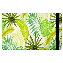 Amazon Forest Natural Green Yellow Leaf Apple Ipad Pro 12 9   Flip Case by Mariart