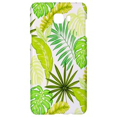 Amazon Forest Natural Green Yellow Leaf Samsung C9 Pro Hardshell Case