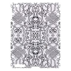 Black Psychedelic Pattern Apple Ipad 3/4 Hardshell Case by Mariart