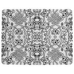 Black Psychedelic Pattern Jigsaw Puzzle Photo Stand (rectangular) by Mariart