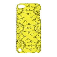 Yellow Flower Floral Circle Sexy Apple Ipod Touch 5 Hardshell Case by Mariart