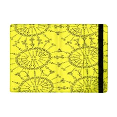 Yellow Flower Floral Circle Sexy Ipad Mini 2 Flip Cases by Mariart