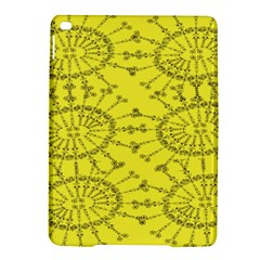 Yellow Flower Floral Circle Sexy Ipad Air 2 Hardshell Cases