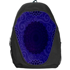 Flower Floral Sunflower Blue Purple Leaf Wave Chevron Beauty Sexy Backpack Bag