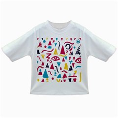 Eye Triangle Wave Chevron Red Yellow Blue Infant/toddler T Shirts