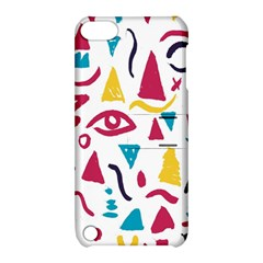 Eye Triangle Wave Chevron Red Yellow Blue Apple Ipod Touch 5 Hardshell Case With Stand by Mariart