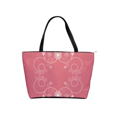 Flower Floral Leaf Pink Star Sunflower Shoulder Handbags by Mariart