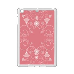 Flower Floral Leaf Pink Star Sunflower Ipad Mini 2 Enamel Coated Cases by Mariart