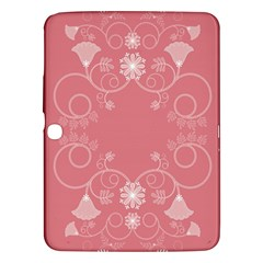 Flower Floral Leaf Pink Star Sunflower Samsung Galaxy Tab 3 (10 1 ) P5200 Hardshell Case  by Mariart