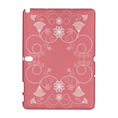 Flower Floral Leaf Pink Star Sunflower Galaxy Note 1 by Mariart