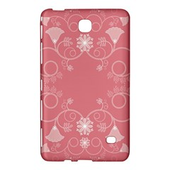 Flower Floral Leaf Pink Star Sunflower Samsung Galaxy Tab 4 (8 ) Hardshell Case  by Mariart