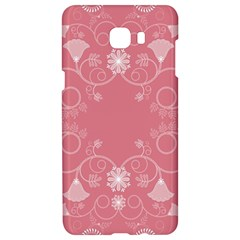 Flower Floral Leaf Pink Star Sunflower Samsung C9 Pro Hardshell Case