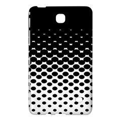 Gradient Circle Round Black Polka Samsung Galaxy Tab 4 (8 ) Hardshell Case  by Mariart