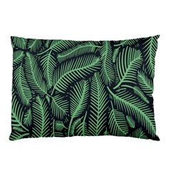 Coconut Leaves Summer Green Pillow Case by Mariart