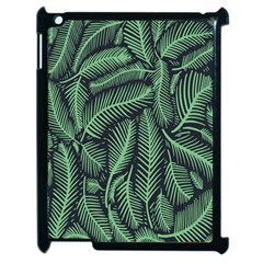 Coconut Leaves Summer Green Apple Ipad 2 Case (black) by Mariart