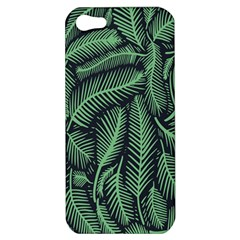 Coconut Leaves Summer Green Apple Iphone 5 Hardshell Case by Mariart